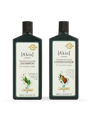 Duo 225ML Unscented Very Gentle Shampoo & Unscented Very Gentle Conditioner
