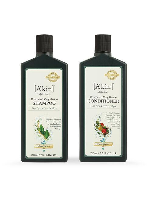 Duo 225mL Mild & Gentle Fragrance Free Shampoo & Conditioner