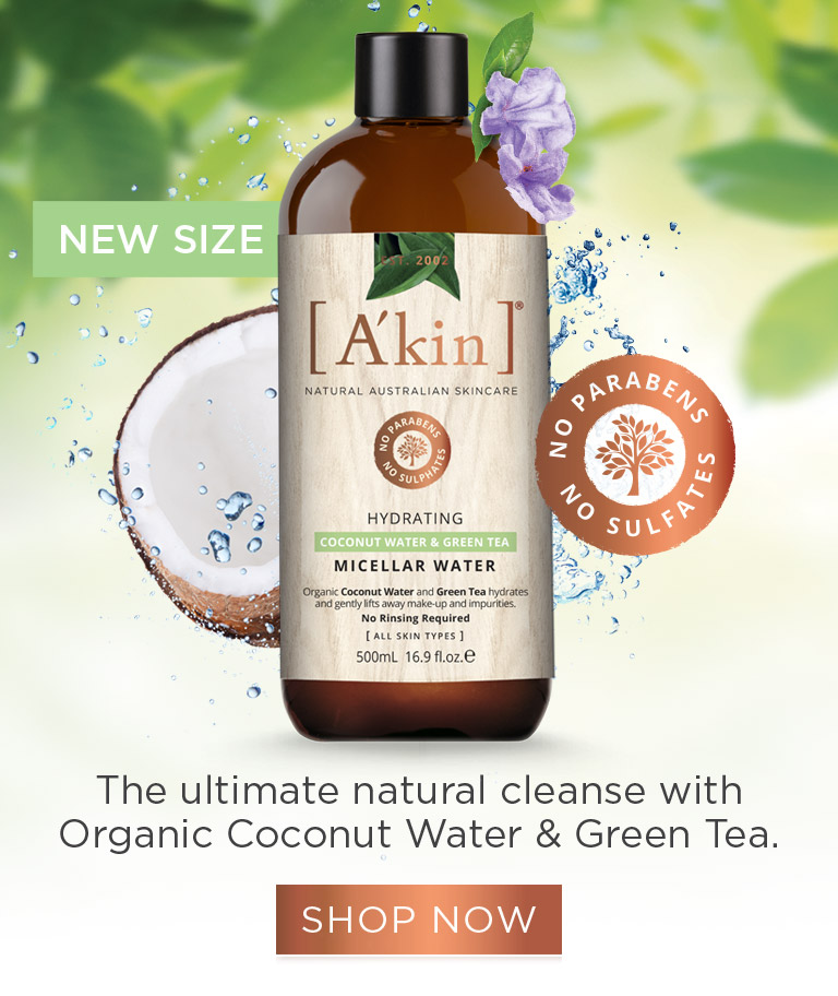 The ultimate natural cleanse with Organic Coconut Water & Green Tea