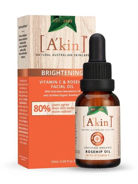 Brightening Vitamin C & Rosehip Facial Oil 20mL