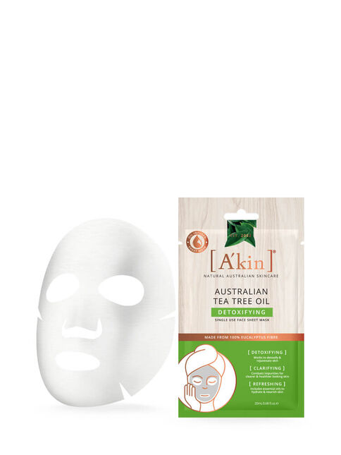 Australian Tea Tree Oil Detoxifying Face Sheet Mask 1 pack