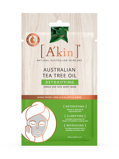 Australian Tea Tree Oil Detoxifying Mask 1 pack