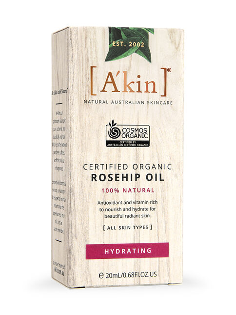 Certified Organic Rosehip Oil 20ml