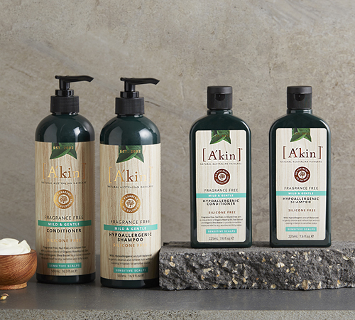 A'kin Mild & Gentle Shampoo & Conditioner